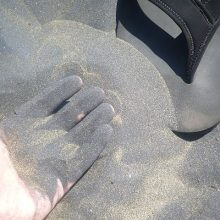 Black Sand Beaches, New Zealand