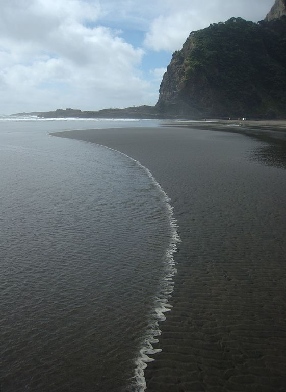 Karekare beach, New Zealand