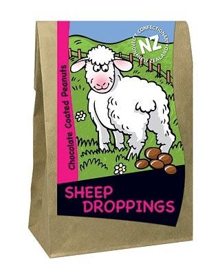 Sheep Droppings, New Zealand