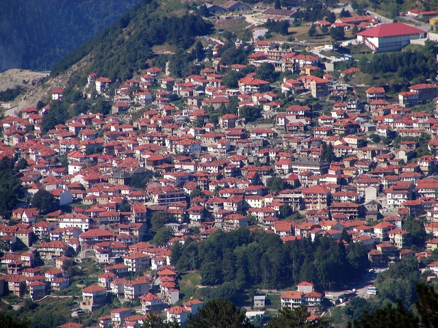 Metsovo over view