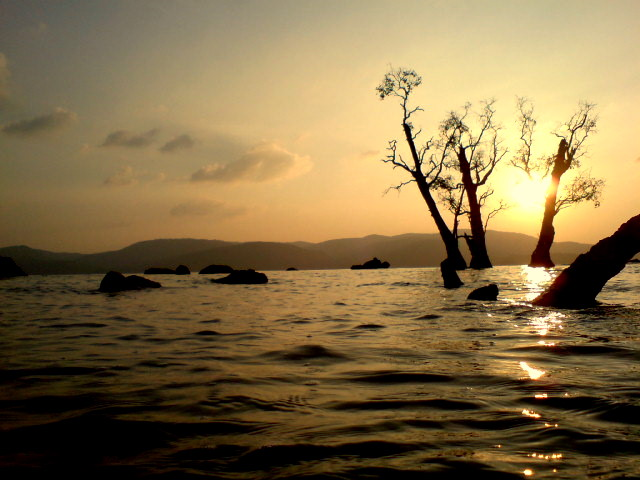 Sunset at Chidiya Tapu Andaman