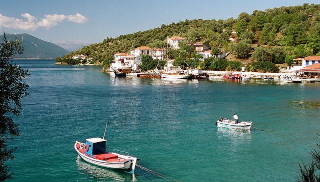 Trikeri Island greek islets