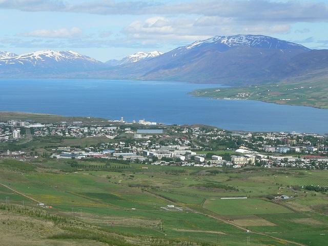 Eyjafjörður Fjord, Akureyri, Iceland