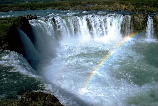 Goðafoss waterfalls, Iceland