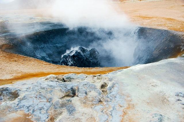 sulfur springs, Iceland