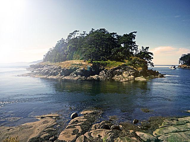 Islands within United States San Juan Islands