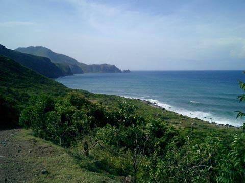 Montserrat coast line