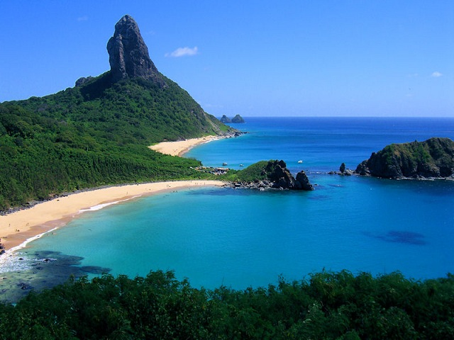 Most beautiful islands Fernando de Noronha