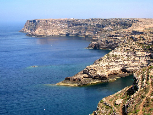 Lampedusa less Crowded Italian Islands