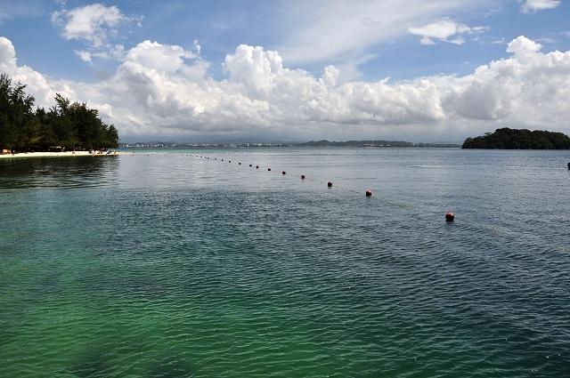 Malaysian Sabah Islands Manukan Island