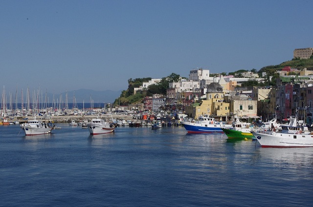 less Crowded Italian Islands Procida Island