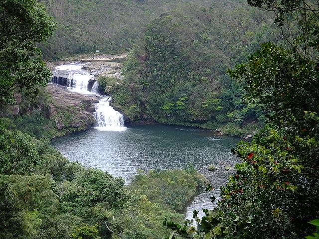 Minor Islands of Japan Maryudo waterfalls