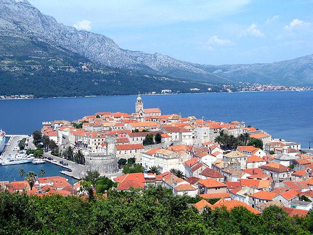 Korcula Island, Dubrovnik, Croatia