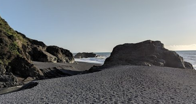 Black Sands Beach Shelter Cove California