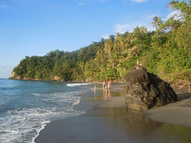 Caribbean Black Sand Beaches