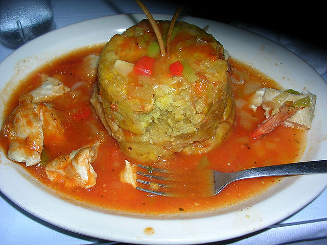 Caribbean Islands food Mofongo