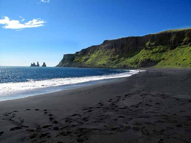 Vik black sand beaches, Iceland
