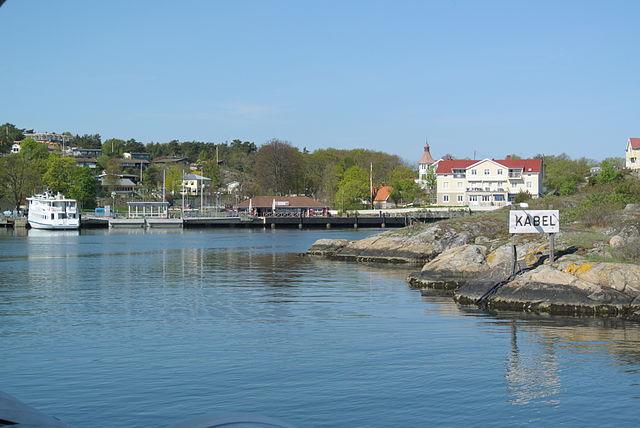 Sweden islands Styrso Islands