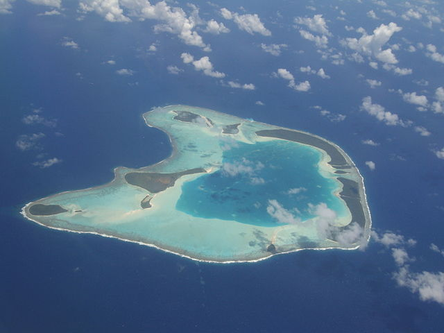 French Polynesian Islands Tetiaroa Atoll