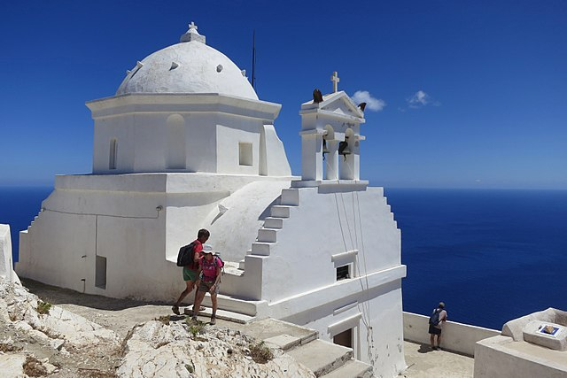 inconspicuous Greek Islands Anafi