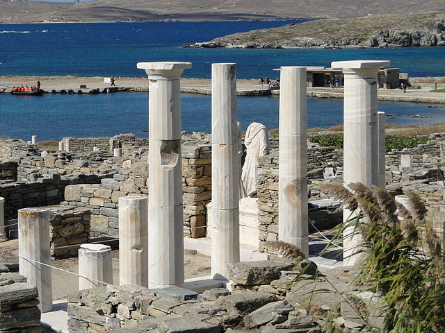 Delos Greek Islands