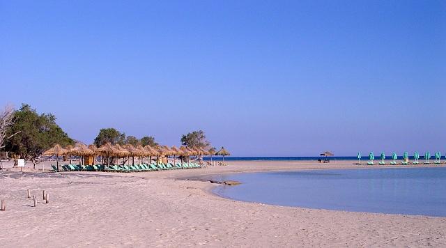 Elafonisi Pink Sand Beach Crete