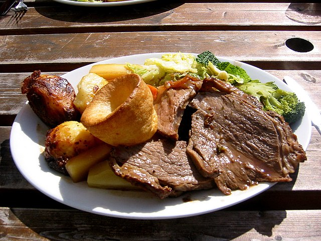 Food and Drinks roasted beef