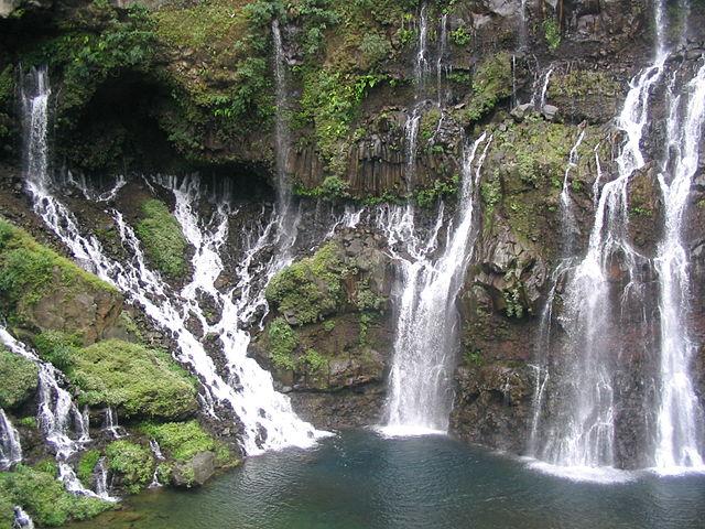 Grand Galet Falls, Reunion Island