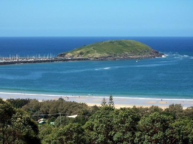 New Zealand Islands Muttonbird island