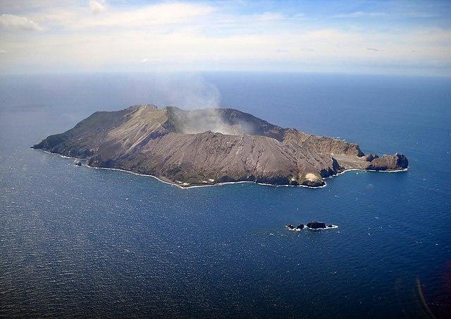 New Zealand Islands Whakaari Island