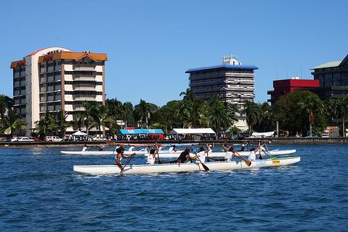 Fijian rafting