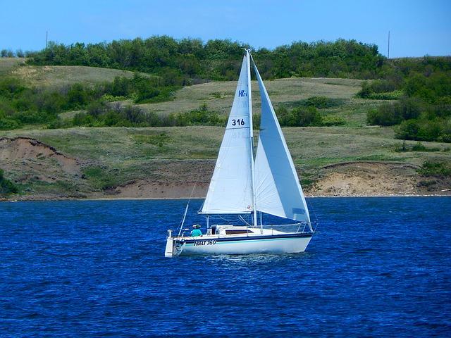 Sail boat, Sailing route
