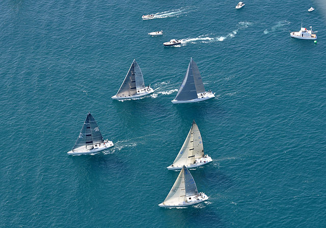 yachat race sailing routes