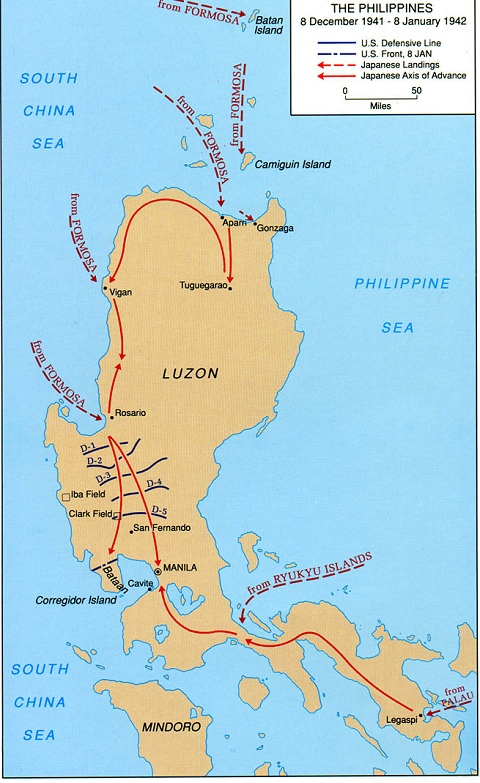 Luzon map