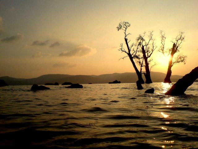 Sunset at Chidiya Tapu Andaman