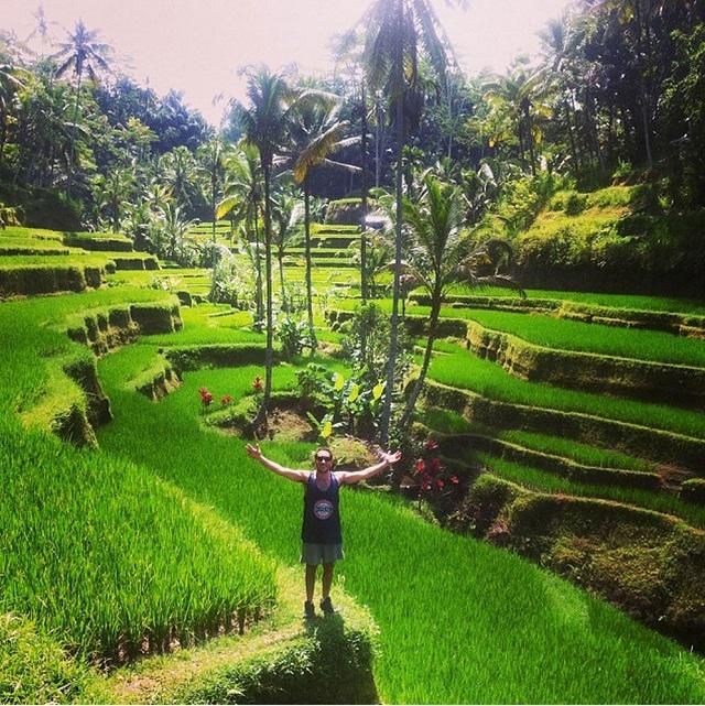 Tegallalang Terraced Paddy Fields in Bali
