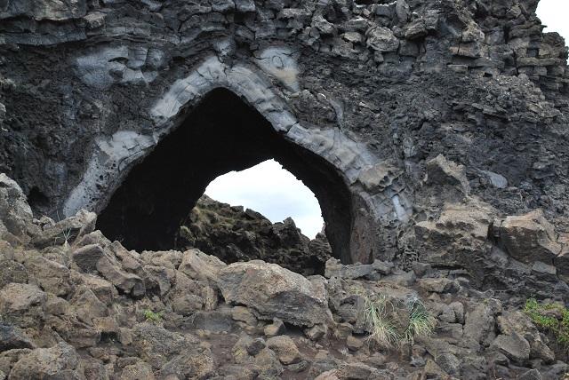 Dimmuborgir Hiking Trails, Iceland