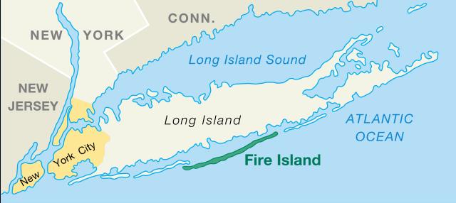 Fire Island, New York