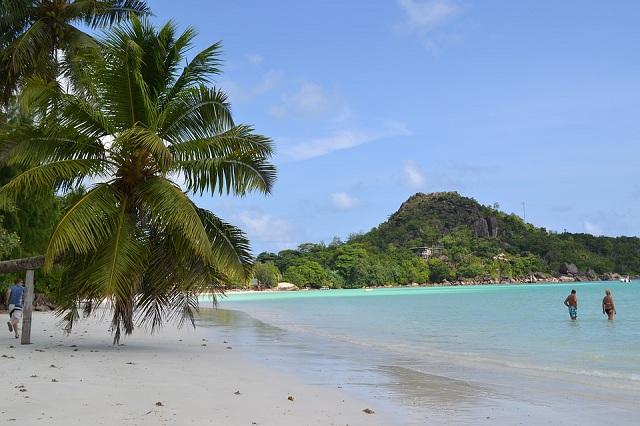 African Islands Praslin Island