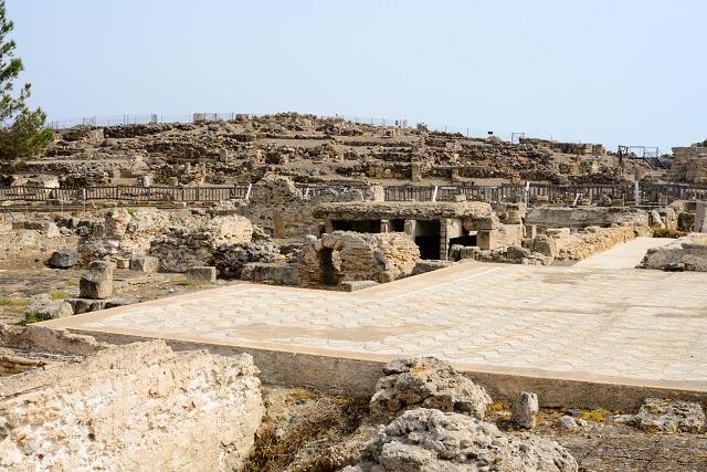 Sardinia Island ruins of Nora