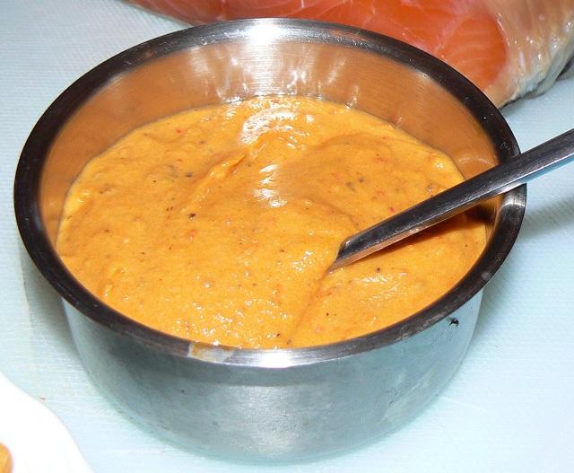Almogrote-a cheese in La Gomera Island