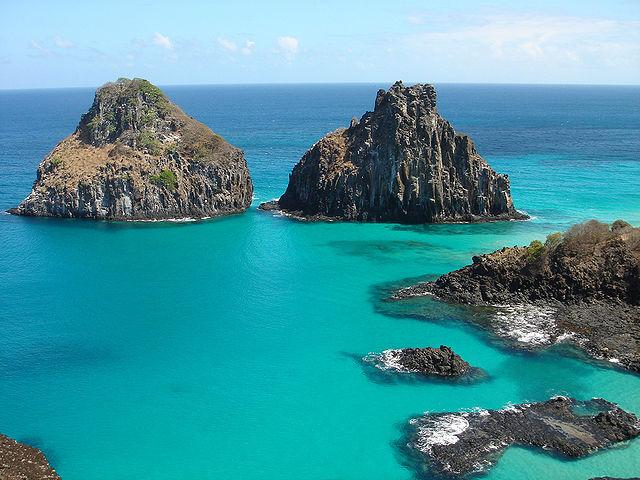 Most beautiful islands Fernando de Noronha, Brazil
