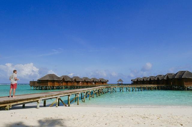Fihalhohi Islands in Maldives