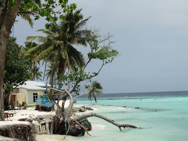 Maafushi Islands in Maldives