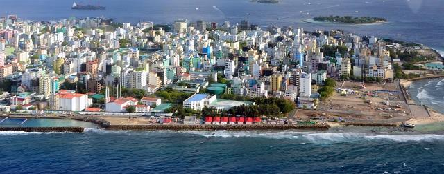 Malé islands in Maldives
