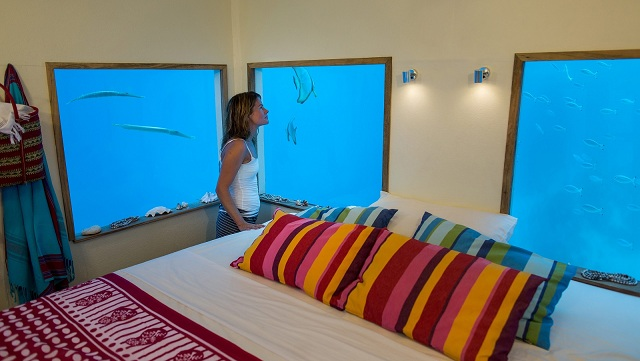underwater room in Pemba Island