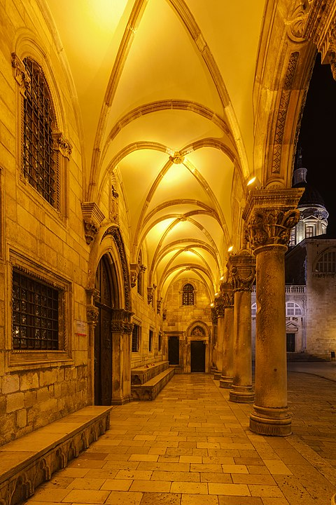 Rector's Palace of the Gothic era