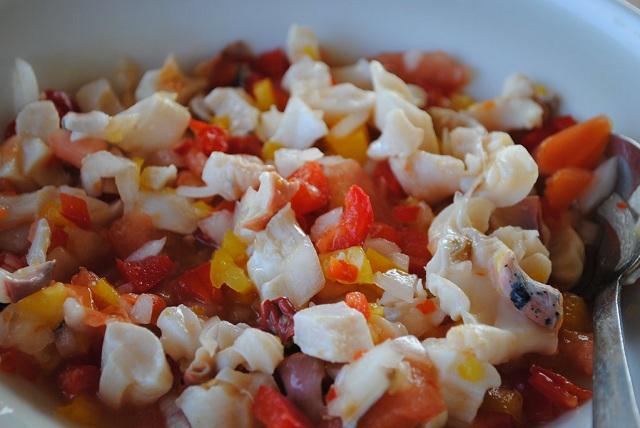 Caribbean Islands food Conch Salad