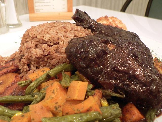 Caribbean Islands food Jerk chicken