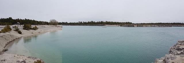 Lagunen lake bank